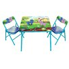Gener8 Pony Kids' 3 Piece Square Table and Chair Set