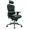Eurotech Seating Ergohuman High-Back Leather Manager Chair with Arms