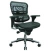 Eurotech Seating Ergohuman Mid-Back Mesh Chair with Arms
