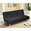 Idea Nuova Urban Shop Memory Foam Faux Leather Futon