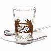Ritzenhoff 3-tlg. Espressoglas -Set Bacino mit Untertasse und Löffel