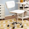 Zipcode™ Design Adjustable Mid-Back Sleek White Office Chair