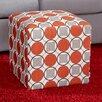 Zipcode Design Geometric Cube Ottoman