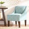 Zipcode Design Trellis Swoop Chair in Turquoise