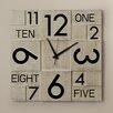 Zipcode™ Design Multi Layer Wall Clock