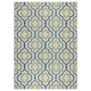 Zipcode™ Design Lucia Ivory/Green/Navy Blue Indoor/Outdoor Area Rug