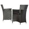 Zipcode Design Dining Arm Chair with Cushion (Set of 2)
