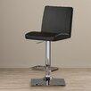 Zipcode™ Design Michaela Adjustable Height Swivel Bar Stool with Cushion