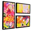Zipcode™ Design Lola Fiesta 3 Piece Framed Painting Print Set