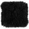 Zipcode™ Design Becky Mongolian Lamb Fur Wool Throw Pillow