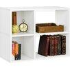 "Zipcode™ Design Clara 24.8"" Bookcase and Cubby Storage Shelf"