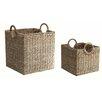 Baum 2 Piece Tote Basket Set