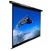 "Elite Screens VMAX2 Series Black 99"" diagonal Manual Projection Screen"