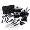 Gibson Kitchen 30 Piece Cookware Combo Set
