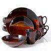 Gibson Convergence 16 Piece Dinnerware Set