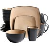 Gibson SoHo Lounge 16 Piece Dinnerware Set