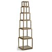 """Tripar 6 Piece Risers 19.5"""" Bookcase Set"""