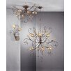 JH Miller Patagonia 6 Light Crystal Chandelier