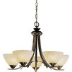 JH Miller Dorchester 5 Light Candle-Style Chandelier