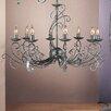 JH Miller York 8 Light Style Chandelier