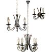 JH Miller Tamel 3 Light Chandelier