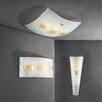 JH Miller Vetro 2 Light Flush Wall Light