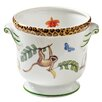 Monkey Magic Porcelain Pot Planter - Lynn Chase Designs Planters