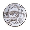 """Lynn Chase Designs African Inspirations 8.88"""" Salad Plate"""