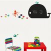 Retrospect Group Whale and Octopus Chalkboard Wall Decal