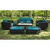 AE Outdoor Wright 6 Piece Deep Seating Group with Cushion