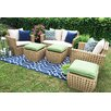 AE Outdoor Bethany 6 Piece Seating Group with Cushions