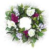 """Dried Flowers and Wreaths LLC 22"""" Mixed Floral Wreath"""