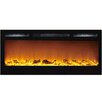 Moda Flame Cynergy Log Built-In Wall Mounted Electric Fireplace