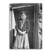 Gallery Direct 'Navajo Girl, Canyon de Chelle, Arizona' by Ansel Adams Photographic Print on Wrapped Canvas