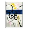 Gallery Direct Across the Deep I by Elisa Gomez Framed Painting Print on Canvas