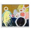 Gallery Direct Strange Persuation by Elisa Gomez Framed Painting Print on Canvas