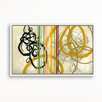 Gallery Direct Untie the Knot by Elisa Gomez Framed Painting Print on Canvas