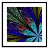 Gallery Direct Stained Glass Flora Framed Photographic Print