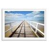 Gallery Direct New Era Beach Boardwalk Framed Photographic Print