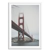 Gallery Direct New Era Golden Gate Framed Photographic Print