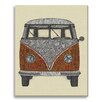 Gallery Direct Boho the Van by Valentina Harper Graphic Art on Wrapped Canvas