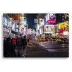 Gallery Direct Neon Nightlife by New Era Photographic Print on Canvas