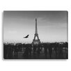 Gallery Direct The Eiffel Tower by New Era Photographic Print on Canvas