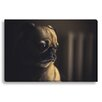 Gallery Direct Pug Face by New Era Photographic Print on Canvas