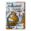 Gallery Direct 'Liquid Forms II' by T. Graham Painting Print on Wrapped Canvas
