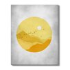 Gallery Direct 'Sunset' by Ivana Sepa Painting Print on Wrapped Canvas