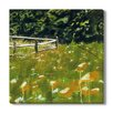 Gallery Direct 'Fence Series V' by T. Graham Painting Print on Wrapped Canvas