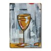 Gallery Direct 'Liquid Forms VI' by T. Graham Painting Print on Wrapped Canvas