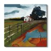 Gallery Direct 'Farmhouse I' by T. Graham Painting Print on Wrapped Canvas