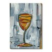 Gallery Direct 'Liquid Forms IV' by T. Graham Painting Print on Wrapped Canvas